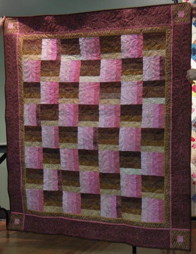 Intro to Quilting: Quilt Patterns For Rail Fence