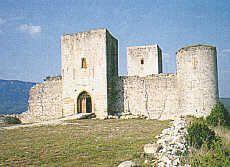 Puivert, le château des troubadours - Aude                                                                                                                                                      Plus