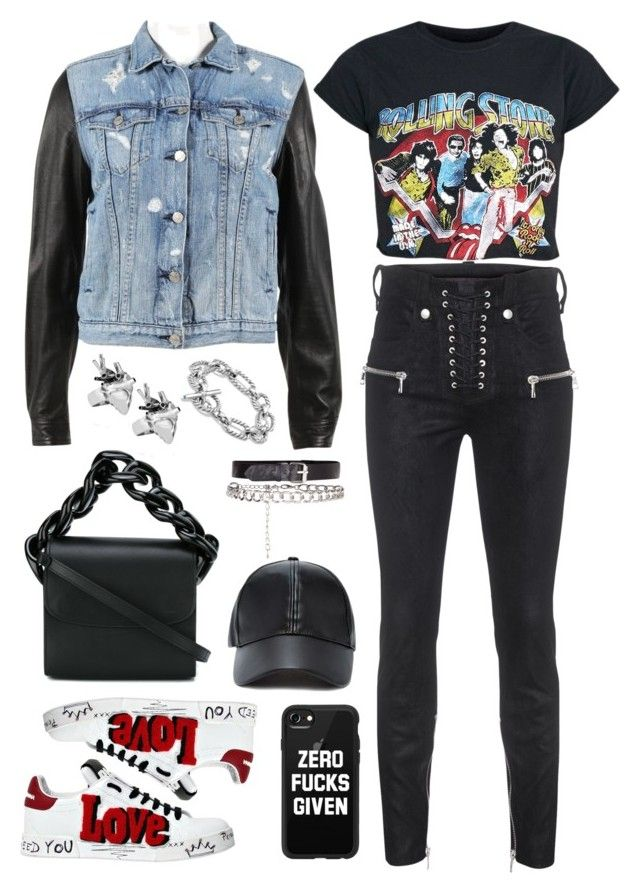 """park yoochun"" by armintautari on Polyvore featuring rag & bone, Unravel, Dolce&Gabbana, StrangeFruit, David Yurman, Marques'Almeida, Forever 21 and Casetify"