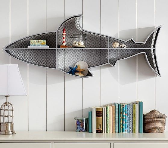 Perfect Shark Shelf | Pottery Barn Kids