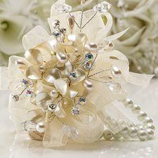 Buttercream Prom Corsage | Creamy Pearl Hydrangea Corsage for Prom
