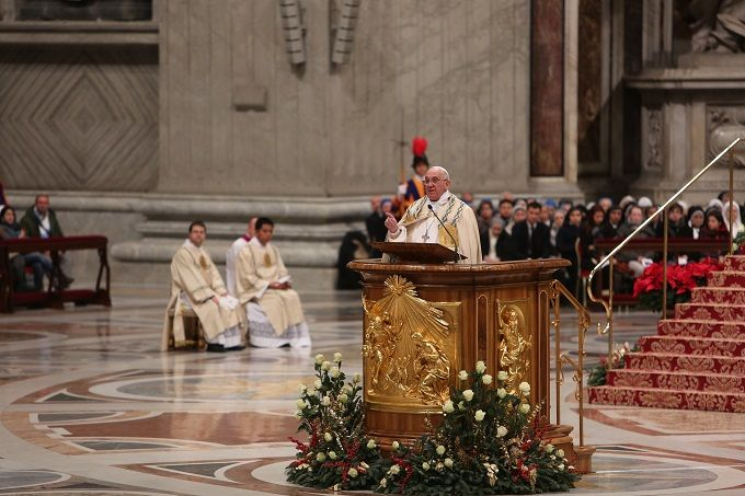 In his Sunday Angelus address Pope Francis said that merely obeying the rules isn't enough to make us holy, but that if we truly want to serve God our conversion has to be deeper, changing the heart.