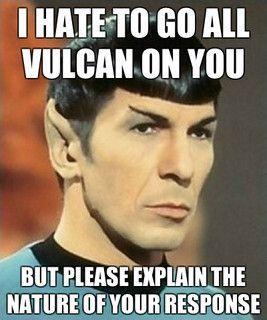 Star Trek memes | Star Trek meme - Spock