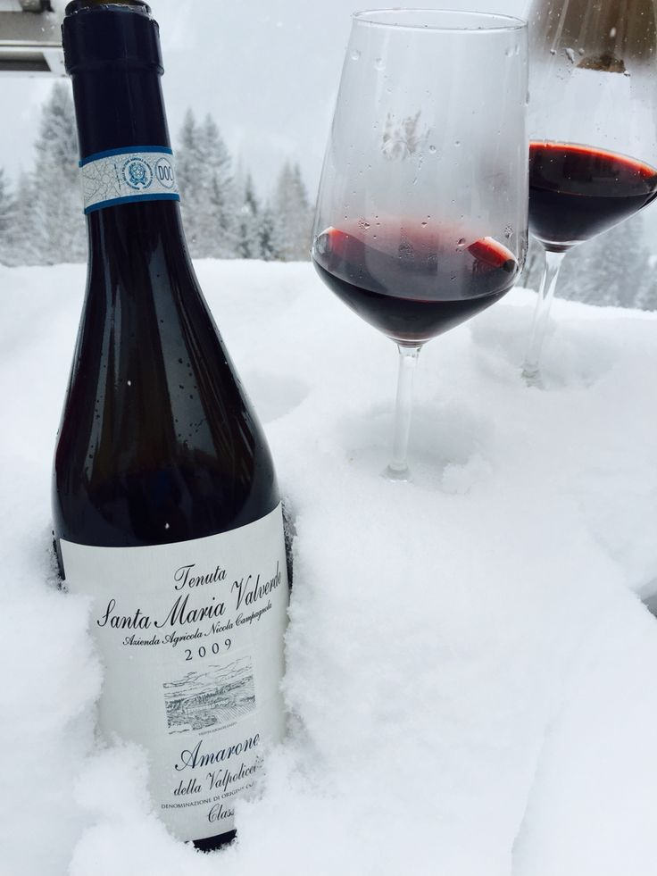 Snow and Amarone