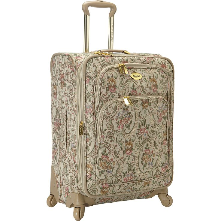 """Amelia Earhart Luggage Versailles 360 Collection 24"""" Exp Upright - eBags.com"""