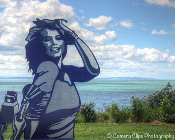 Flashback, a pre-selfie pic - Anah Dunsheath