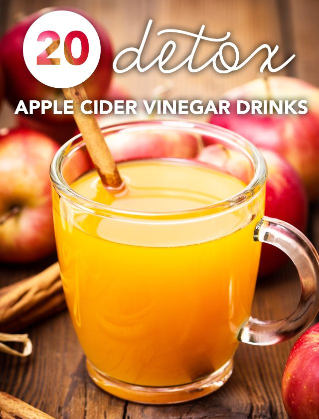Here are my favorite apple cider vinegar drinks for detox and weight loss. I drink an apple cider vinegar tonic every morning and have never felt healthier!