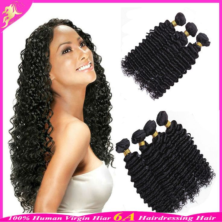 Find More Human Hair Extensions Information about Cheap 6A Brazilian Deep Wave Virgin Hair Brazilian Human Hair Weave Bundles Brazilian Hair Deep Wave 3 Pcs Lot Hair Extensions,High Quality hair highlights curly hair,China hair weave white women Suppliers, Cheap hair extension hair clips from Hairdressing Hair Weave on Aliexpress.com