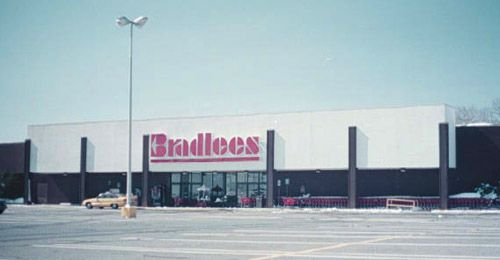 Bradlees department store.  There was one a few blocks from me.  Remember 'Mrs. B' from the commercials?