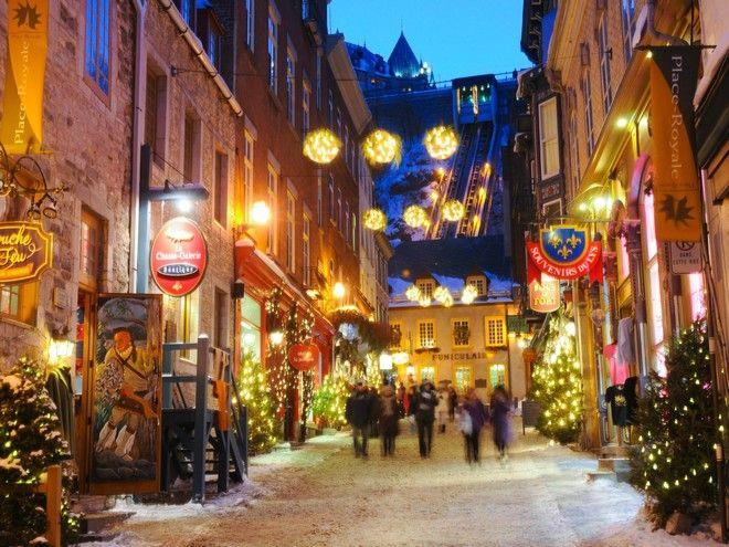 Χριστούγεννα στο μακρινό Κεμπέκ του Καναδά!