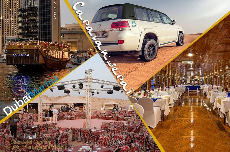 Exceptional #arabian Experience & #Safari in Dubai, United Arab Emirates #Desert visit us @ #Caravanserai where #live #entertainment shows like #Yolla #Dance #HairDance #BellyDance and #Falcon show. then #enjoy the open international #buffet catered by #5star #hotel OR our fleet of #dhow cruises in each of #marina #creek #canal & Abu Dhabi #yas. tour-dubai.com