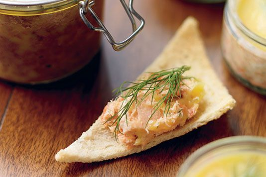 The Hairy Bikers' potted salmon recipe - tried and tested on Christmas day! Delicious!