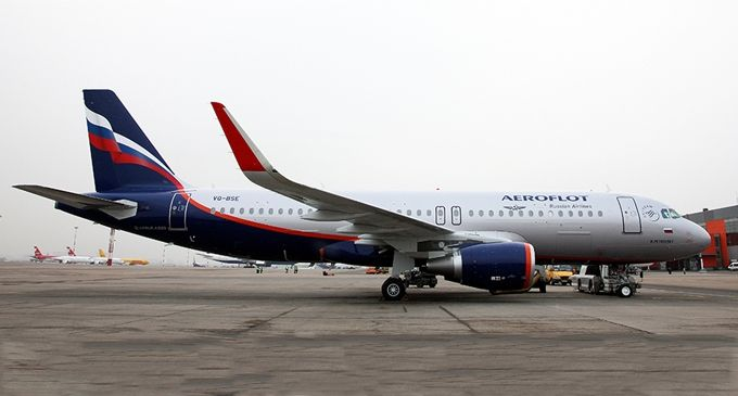 Aeroflot takes delivery of sharklets-equipped A320 aircraft