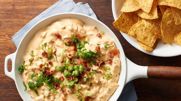 Don't let Buffalo chicken dip have all the fun. This creamy chicken bacon ranch dip is just as addictive and great for game day.