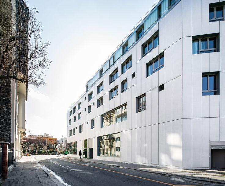 Patronage Laique & Social Housing,© Luc Boegly