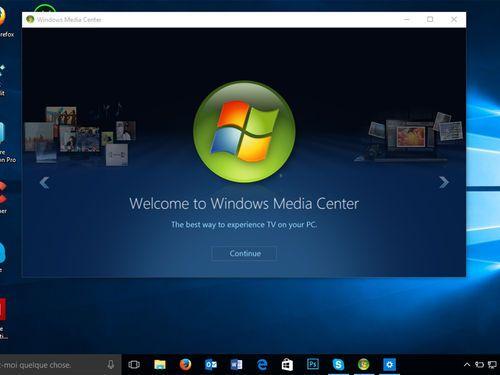 Windows 10 : comment restaurer Windows Media Center