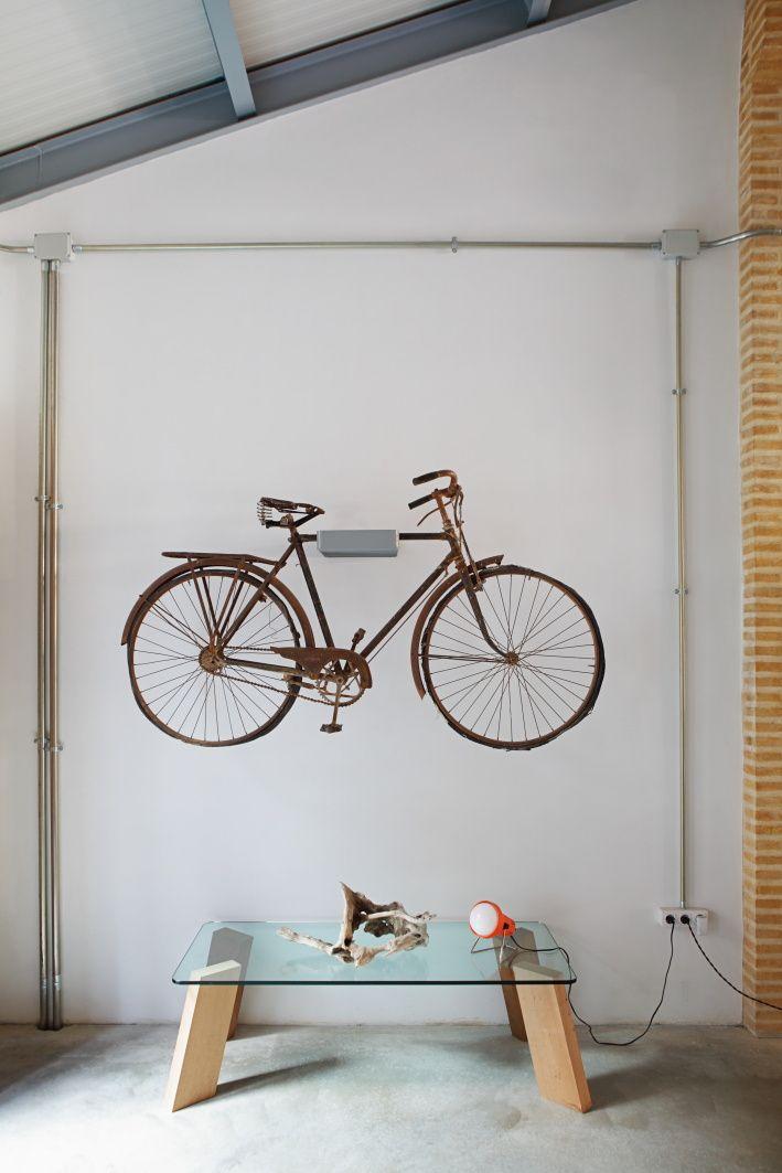 M s de 1000 ideas sobre soportes para bicicletas en for Soporte para bicicletas suelo