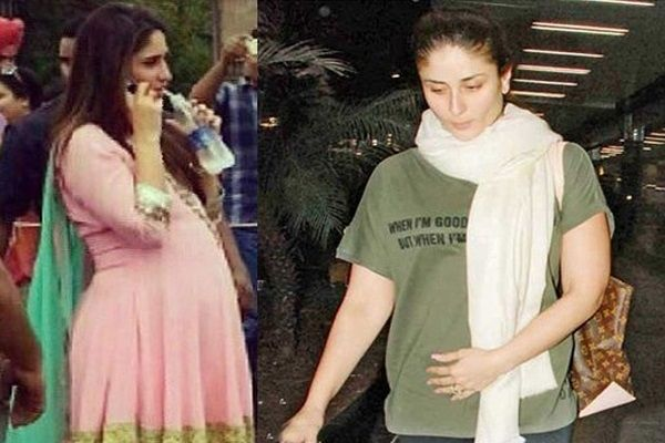 Actress Kareena Kapoor Khan, who is expecting her first child with actor Saif…