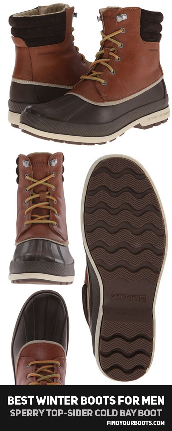 Sperry Top-Sider Cold Bay Boot - Discover what made the list of the best winter boots for men at http://www.findyourboots.com/best-mens-boots-for-winter-2017/