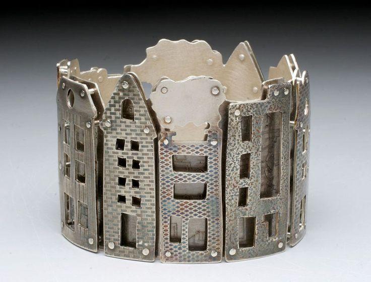 Neighborhood sterling silver Bracelet by Holly Dobkin