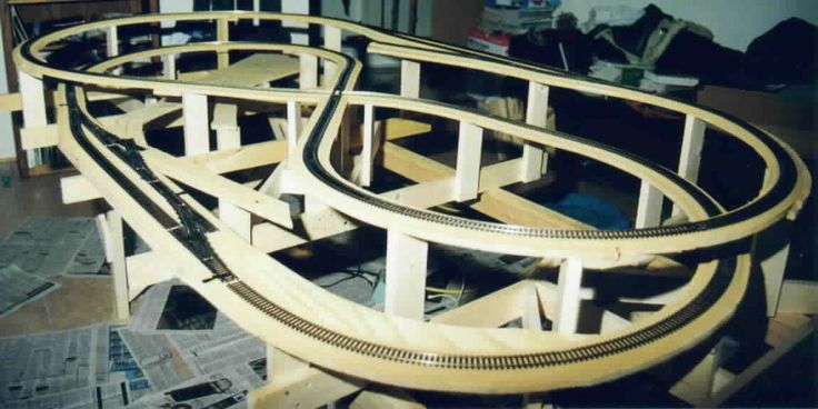 model train layout set - Google Search