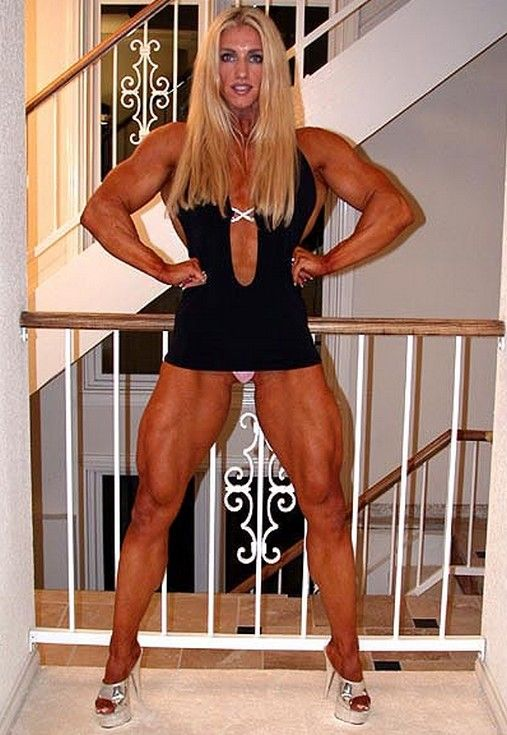 Beautiful Strong And Muscular Girls