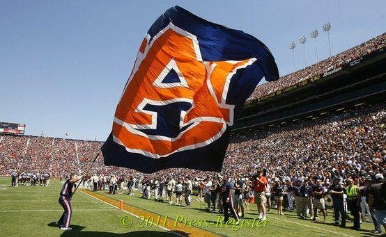 Auburn football by maritza
