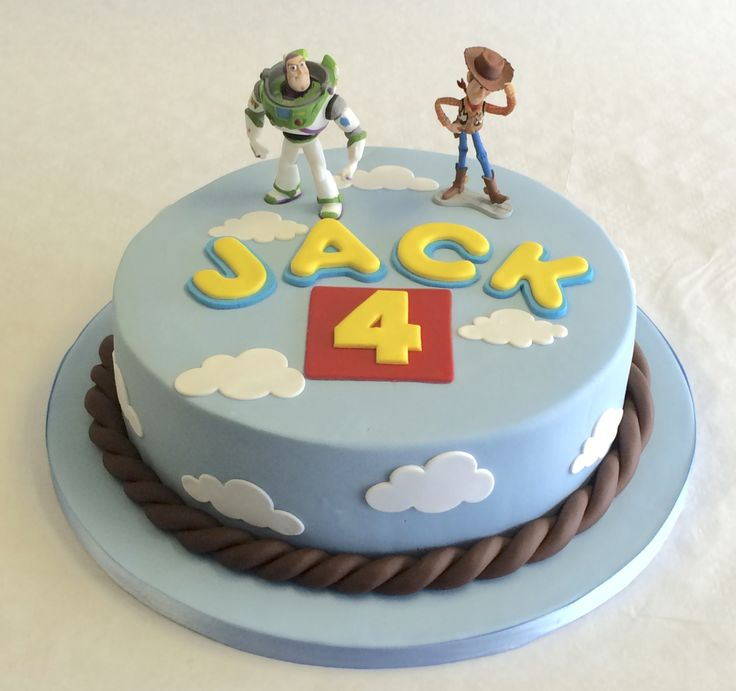 You've got a friend in me - #ToyStory cake! #BirrthdayCakes