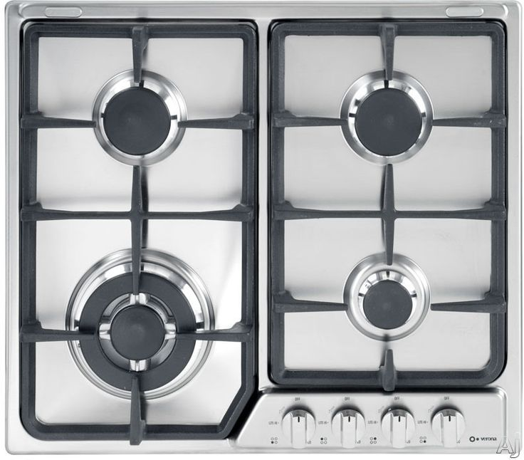 What are sealed burners on a cooktop?