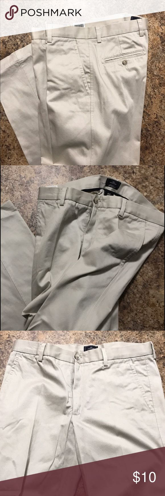 Dockers D1 Slim Fit Khaki Dress Pants- Size 34x32 Dockers D1 Slim Fit Khaki Dress Pants- Size 34. Worn twice. Dockers Pants Dress