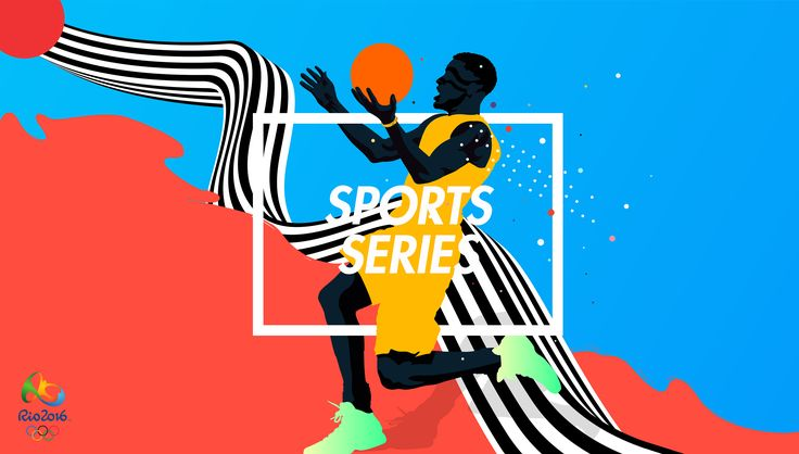 Sports Series is an experimental set of illustration inspired in different games that we will see in Rio 2016. Basketball, swimming, decathlon and polevault.