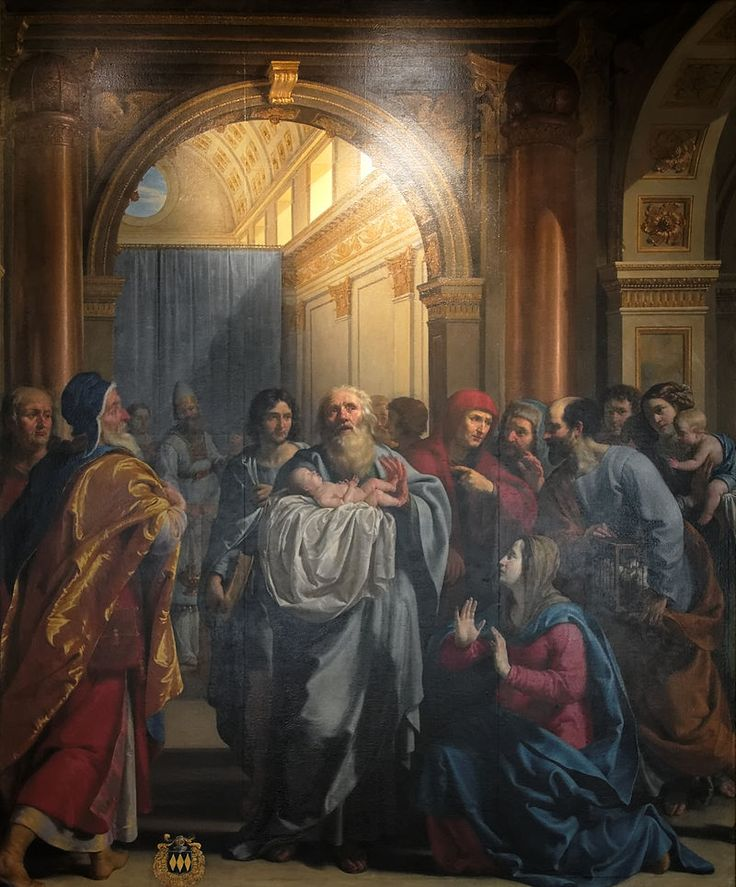 La Présentation de Jésus au Temple,1630. Musée de beaux-arts,Dijon.