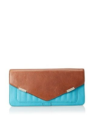 60% OFF Rebecca Minkoff Women's Honey Clutch, Turquoise