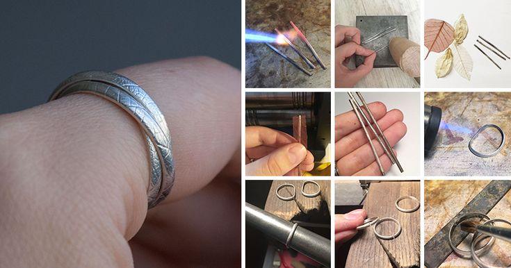 Наверное, данное тройное кольцо известно каждому. Его придумал Луи Картье в 1924 году, оно было обручальным и состояло из трех переплетенных между собой золотых колец: кольцо из белого золота олицетворяло Дружбу, кольцо из желтого золота — Верность и кольцо из розового золота — Любовь. В моей интерпретации кольцо будет серебряным с текстурой листа. Для работы понадобится: - заготовка D-образного…