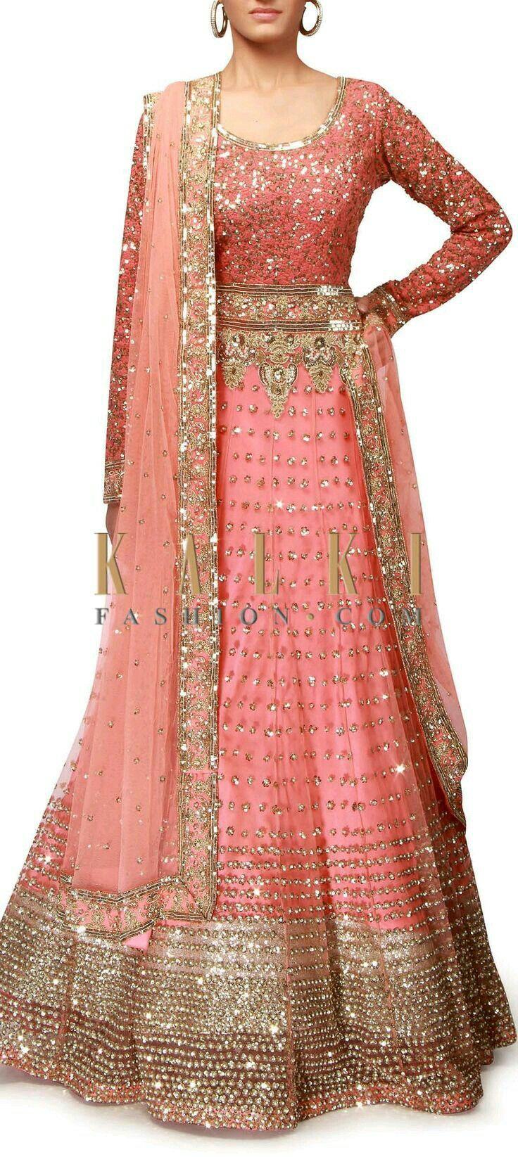 13 best indian bridal lehangasss images on Pinterest   India fashion ...