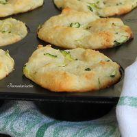 Muffin patate e zucchine sofficissimi