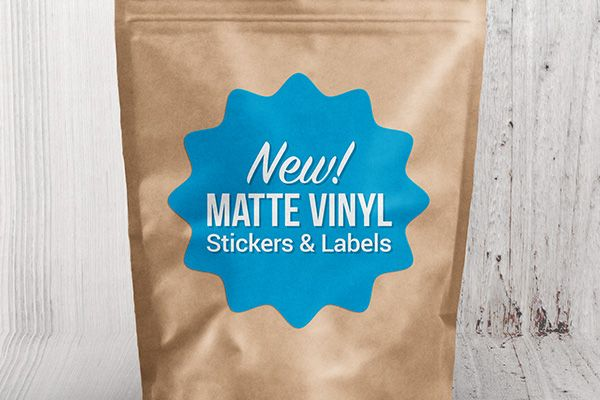Customize your own durable and totally affordable matte vinyl stickers and labels with StickerYou's easy-to-use Sticker Maker!