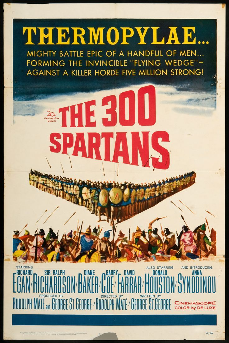 Best Film Posters : 300 Spartans The SKU 4459
