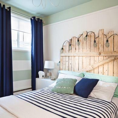 Chambre d'ado rafraîchie à peu de frais - Chambre - Avant après - Décoration et rénovation - Pratico Pratique