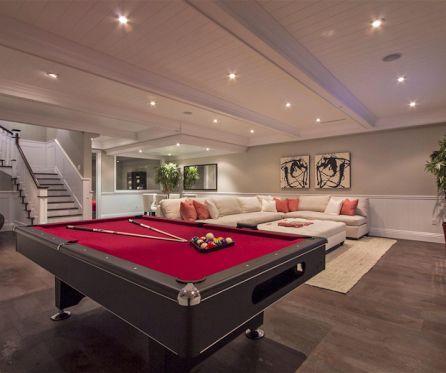 Aménagement de sous-sol | Décoration maison                                                                                                                                                                                 Plus