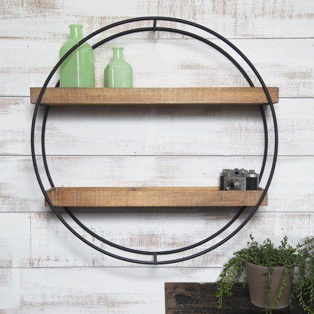 Home Wall shelves design, Wood wall shelf, Industrial