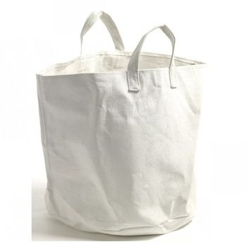 Blank Round Canvas Tote Bag Wholesale