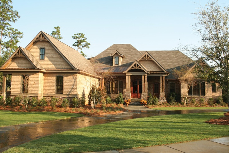 62 best exterior images on pinterest brick exterior for Craftsman style home builders atlanta