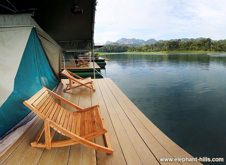 Cheow Larn Lake, Elephant Hills Luxury Floating Camp