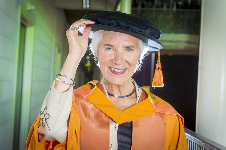 Holocaust survivor Eva Clarke was made an Honorary Doctor of Laws for her work with the Holocaust Education Trust and the Anne Frank Trust.