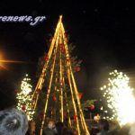 Φωταγωγήθηκε το Χριστουγεννιάτικο δέντρο στο ΒΙΟΠΑ
