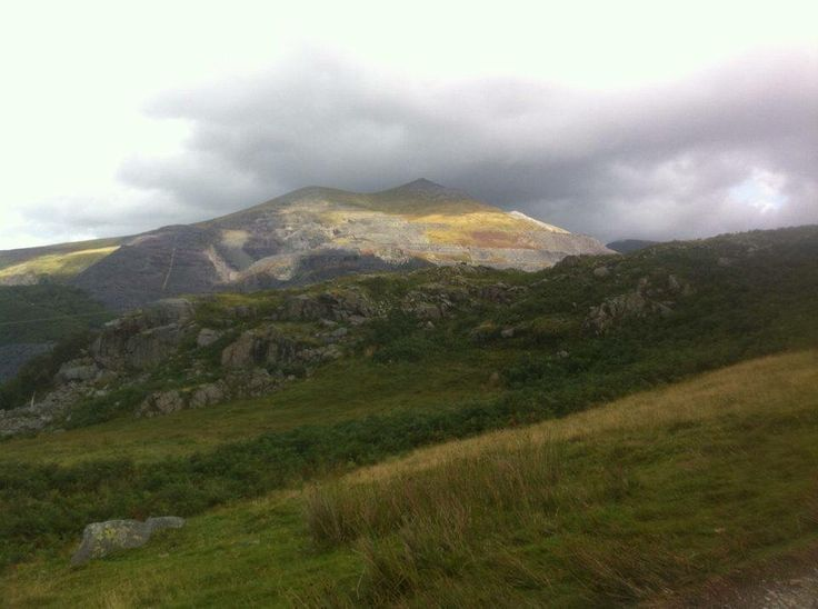 #mountains  View from Snowden, Wales