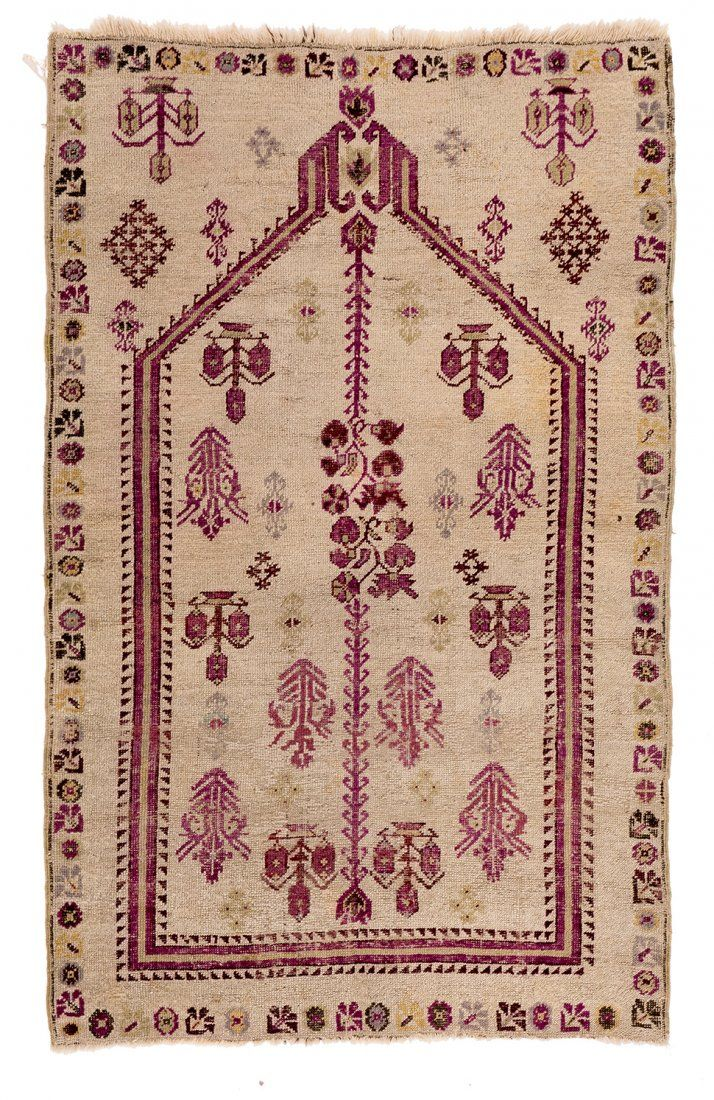 Kirsehir Turkey ca. 1880 5ft. 3in. x 3ft. 4in.