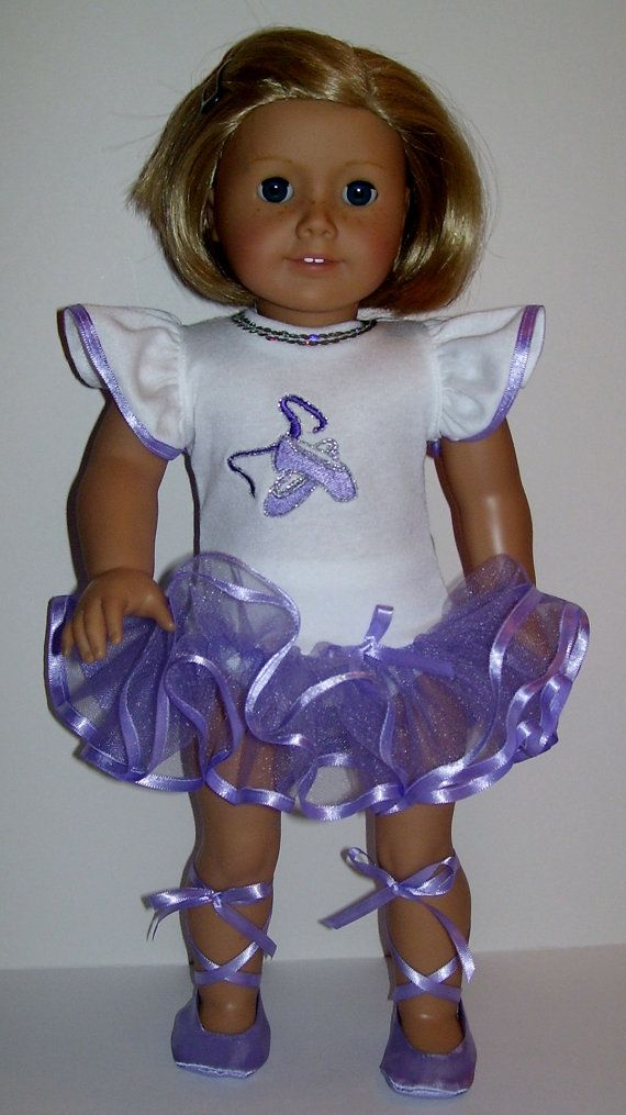 Ballerina outfit fits American Girl doll Isabelle and similar 18 inch dolls