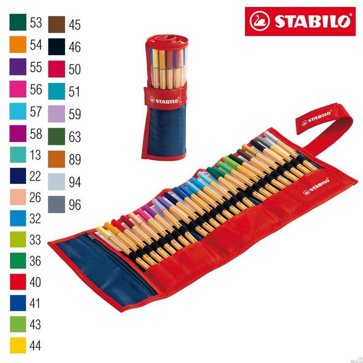 Estojo Caneta Stabilo Point 8825